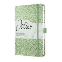 Jegyzetfüzet, exkluzív, 135x203 mm, vonalas, 174 oldal, keményfedeles, SIGEL Jolie, Spring Garden (SIJN303)