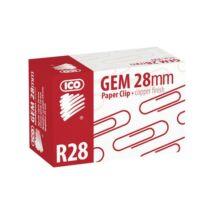 Gemkapocs, 28 mm, ICO, réz (TICGKR28)