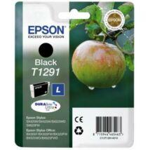 T12914012 Tintapatron Stylus SX420W, SX425W, SX525WD nyomtatókhoz, EPSON fekete, 11,2ml (TJE12914)