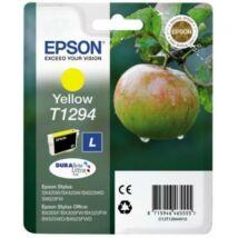T12944012 Tintapatron Stylus SX420W, SX425W, SX525WD nyomtatókhoz, EPSON sárga, 7ml (TJE12944)