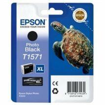 T15714010 Fotópatron StylusPhoto R3000 nyomtatóhoz, EPSON fekete, 25,9ml (TJE15714)