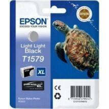 T15794010 Tintapatron StylusPhoto R3000 nyomtatóhoz, EPSON világos világos fekete, 25,9ml (TJE15794)