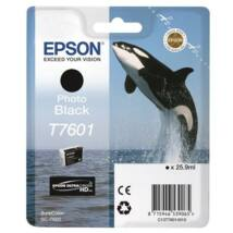 T76014010 Tintapatron SureColor SC-P600 nyomtatóhoz, EPSON, fotófekete, 25,9 ml (TJE76014)
