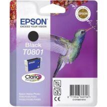 T08014011 Tintapatron StylusPhoto R265, R360, RX560 nyomtatókhoz, EPSON, fekete, 7,4ml (TJE80140)