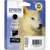 T09614010 Fotópatron StylusPhoto R2880 nyomtatóhoz, EPSON, fekete, 11,4ml (TJE96140)
