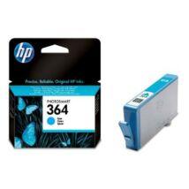 CB318EE Tintapatron Photosmart C5380, C6380, D5460 nyomtatókhoz, HP 364 kék, 300 oldal (TJHCB318E)