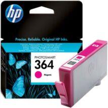 CB319EE Tintapatron Photosmart C5380, C6380, D5460 nyomtatókhoz, HP 364 vörös, 300 oldal (TJHCB319E)