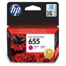 CZ111E Tintapatron Deskjet Ink Advantage 3520 sor nyomtatókhoz, HP 655 vörös, 600 oldal (TJHCZ111E)