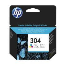 N9K05AE Tintapatron DeskJet  3720, 3730 nyomtatóhoz, HP 304 színes (TJHN9K05A)