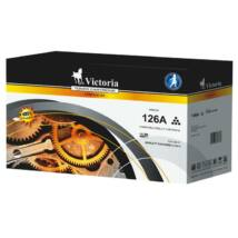 CE310A Lézertoner ColorLaserJet Pro CP1025 nyomtatóhoz, VICTORIA 126A fekete, 1,2k (TOHPCE310V)