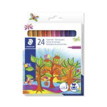Rostirón készlet, 1 mm, STAEDTLER, 24 különböző szín (TS325C24)