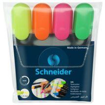 Szövegkiemelő készlet, 1-5 mm, SCHNEIDER Job 150, 4 különböző szín (TSCJOB150V4)