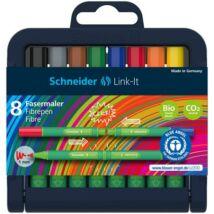 Rostirón készlet, 1 mm, SCHNEIDER Link-it, összeilleszthető, 8 különböző szín (TSCLINKRV8)