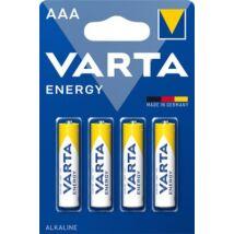 Elem, AAA mikro, 4 db, VARTA Energy (VEEAAA4)