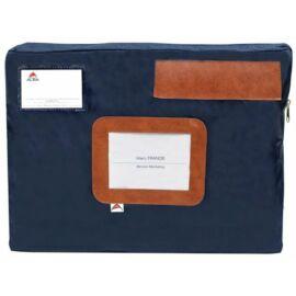 Postázó tasak, 42x5x32 cm, ALBA, kék (CSACSOUK)