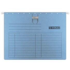 Függőmappa, gyorsfűzős, karton, A4, DONAU, kék (D7430K)