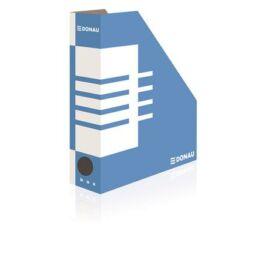 Iratpapucs, karton, 80 mm, DONAU, kék-fehér (D7649)