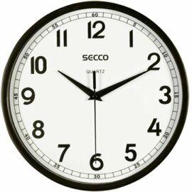 Falióra, 24,5 cm,  SECCO, fekete (DFA007)