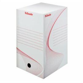 Archiválódoboz, A4, 200 mm, karton, ESSELTE Boxy, fehér (E128701)