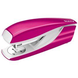 Tűzőgép, 24/6, 26/6, 30 lap, LEITZ Nexxt Wow, rózsaszín (E55021023)