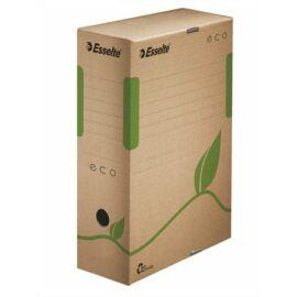 Archiválódoboz, A4, 100 mm, újrahasznosított karton, ESSELTE Eco, barna (E623917)