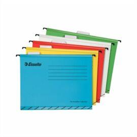 Függőmappa, újrahasznosított karton, A4, ESSELTE Classic, vegyes színek (E93042)