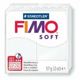 Gyurma, 57 g, égethető, FIMO Soft, fehér (FM80200)