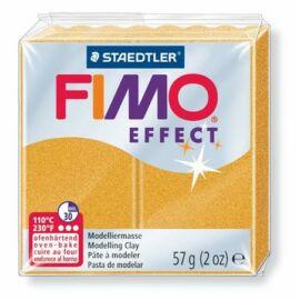 Gyurma, 57 g, égethető, FIMO Effect, metál arany (FM802011)