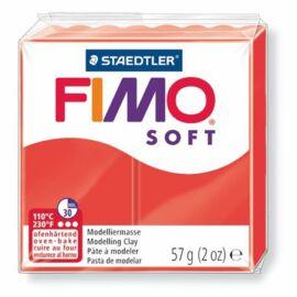 Gyurma, 57 g, égethető, FIMO Soft, indián piros (FM802024)