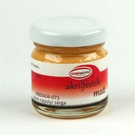 Akrilfesték, 40 ml, matt, élénk nápolyi sárga (HM4071)