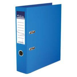 Iratrendező, 75 mm, A4, PP/PP, élvédő sínnel, VICTORIA, Premium, kék (IDIP75K)