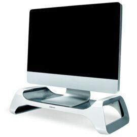 Monitorállvány, FELLOWES I-Spire Series™, fehér-grafitszürke (IFW93111)