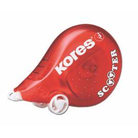 Hibajavító roller, 4,2 mm x 8 m, KORES Scooter, piros (IK848511)