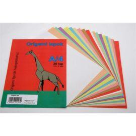 Origami papír, A4 (ISKE014)