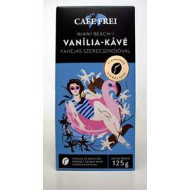 Kávé, pörkölt, szemes, 125 g, CAFE FREI Miami vanília fahéjjal és szerecsendióval (KHK534)