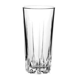 Üvegpohár, metszett, 6db-os szett, 33cl, GastroLine HB (KHPU211)