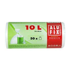 Szemeteszsák, 10 l, 50 db, ALUFIX (KHT114)