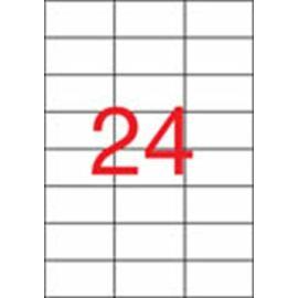 Etikett, univerzális, 70x37 mm, APLI, 480 etikett/csomag (LCA11708)