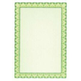 Oklevélpapír, A4, 115 g, APLI, smaragdzöld (LCA11969)