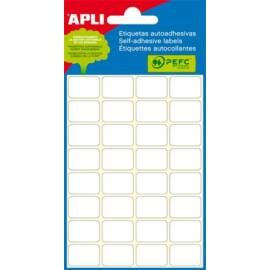 Etikett, 10x49 mm, kézzel írható, ékszerekhez, APLI, 48 etikett/csomag (LCA2689)