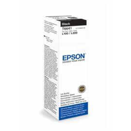 T66414A10 Tinta L100, 200mfp nyomtatókhoz, EPSON, fekete, 70ml (TJE66414)