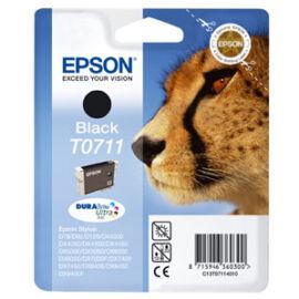 T07114011 Tintapatron Stylus D78, D92, D120 nyomtatókhoz, EPSON, fekete, 7,4ml (TJE71140)