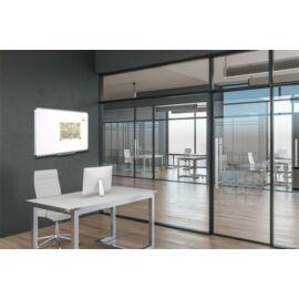 Fehértábla, mágneses, 120x180 cm, alumínium keret, VICTORIA (VVIM07)