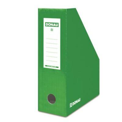 Iratpapucs, karton, 100 mm, DONAU, zöld (D7648Z)