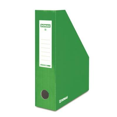 Iratpapucs, karton, 80 mm, DONAU, zöld (D7649Z)