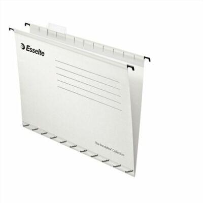 Függőmappa, újrahasznosított karton, A4, ESSELTE Classic, fehér (E90319)