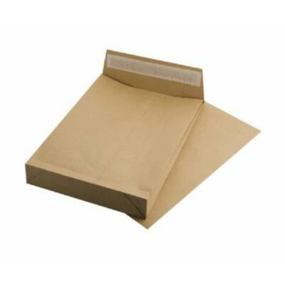 Redős-talpas tasak, TB4, szilikonos, 50 mm talp, VICTORIA, barna kraft (IBI34)