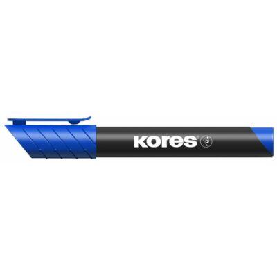 Alkoholos marker, 3-5 mm, kúpos, KORES K-Marker, kék (IK20933)