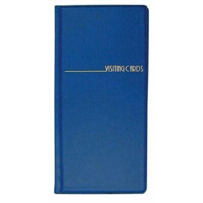 Névjegytartó, 96 db-os, PANTAPLAST, kék (INP311602K)