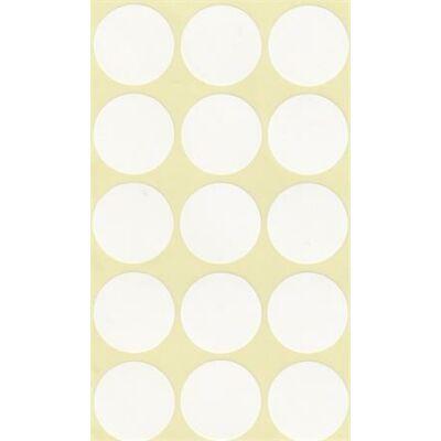 Etikett, köralakú, 30 mm átmérő, 60 etikett/csomag (ISCIK30)